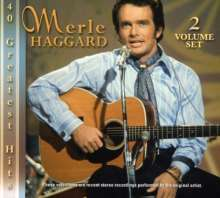 Merle Haggard: 40 Greatest Hits, 2 CDs
