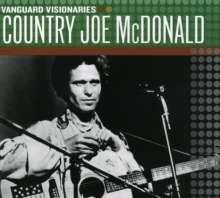 Country Joe McDonald: Vanguard Visionaries, CD