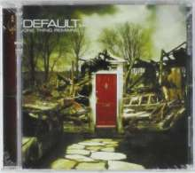 Default: One Thing Remains, CD
