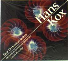 Hans Kox (geb. 1930): 4 Orchestersuiten, CD