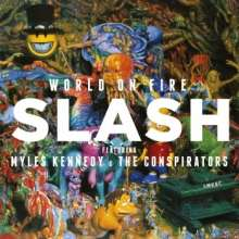 Slash: World On Fire (180g), 2 LPs