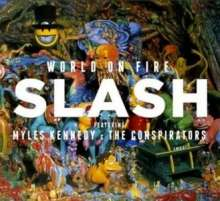 Slash: World On Fire (Blue/ Yellow Vinyl), 2 LPs