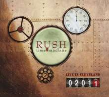 Rush: Time Machine 2011: Live In Cleveland, 2 CDs