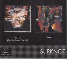 Slipknot: Vol.3 (The Subliminal Verses) / Iowa (2 Originals), 2 CDs