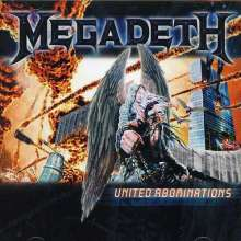 Megadeth: United Abominations, CD