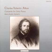 Charles Alkan (1813-1888): Concerto for Piano Solo, CD