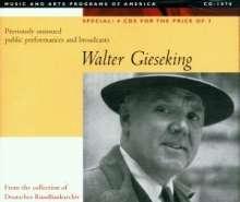 Walter Gieseking - Public Performances & Broadcasts, 4 CDs