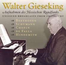 Walter Gieseking - Aufnahmen des HR, 2 CDs