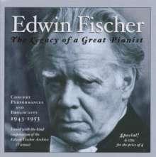 Edwin Fischer - Public Performances & Broadcasts, 6 CDs