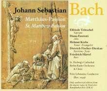 Johann Sebastian Bach (1685-1750): Matthäus-Passion BWV 244, 3 CDs