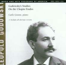 Leopold Godowsky (1870-1938): Sämtliche Studien über die Etüden von Chopin, 2 CDs