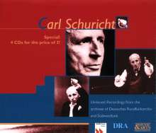 Carl Schuricht - Unissued Broadcast Recordings, 4 CDs
