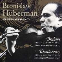 Bronislaw Huberman in Performance, CD