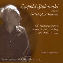 Leopold Stokowski & The Philadelphia Orchestra, 4 CDs