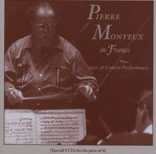 Pierre Monteux in France, 8 CDs