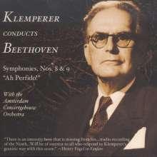 Ludwig van Beethoven (1770-1827): Symphonien Nr.8 & 9, 2 CDs