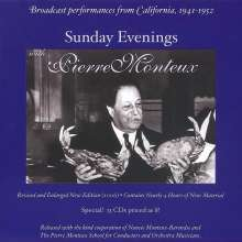 Sunday Evenings with Pierre Monteux, 13 CDs