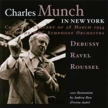 Charles Munch in New York, CD