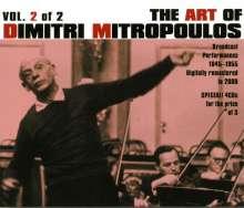 Dimitri Mitropoulos - The Art of Vol.2, 4 CDs