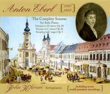 Anton Eberl (1765-1807): Klaviersonaten, 3 CDs