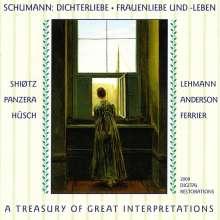 Robert Schumann (1810-1856): Dichterliebe op.48 (in 3 historischen Aufnahmen), 2 CDs