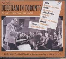 Beecham in Toronto, 4 CDs