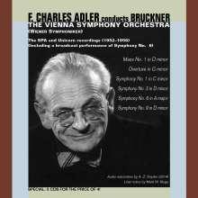 Anton Bruckner (1824-1896): Symphonien Nr.1, 3, 6, 9, 5 CDs