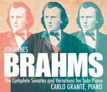 Johannes Brahms (1833-1897): Klaviersonaten Nr.1-3, 3 CDs