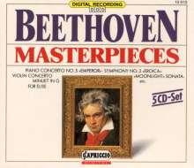 Ludwig van Beethoven (1770-1827): Beethoven Masterpieces, 5 CDs
