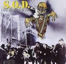 S. O. D.: Live At Budokan, CD