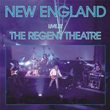 New England: Live At The Regent Theatre, CD