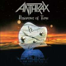 Anthrax: Persistence Of Time (Orange Vinyl), 4 LPs