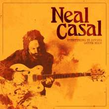 """Neal Casal: Everything Is Moving/Green Moon, Single 7"""""""