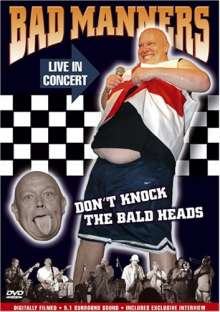 Bad Manners: Don't Knock The Bald Heads, DVD