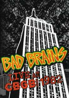 Bad Brains: Live At CBGB, 1982, DVD