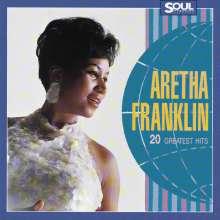 Aretha Franklin: 20 Greatest Hits, CD