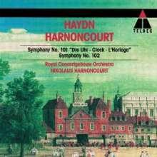 Joseph Haydn (1732-1809): Symphonien Nr.101 & 102, CD