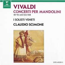Antonio Vivaldi (1678-1741): Konzerte für 2 Mandolinen RV 532 & 558, CD