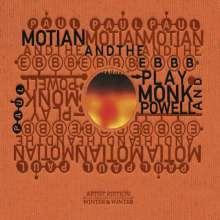 Paul Motian (1931-2011): Powell And Monk, CD