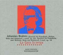 Johannes Brahms (1833-1897): Klavierquartett Nr.3 op.60, CD
