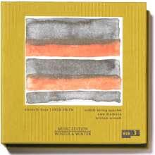 """Fred Frith (geb. 1949): Streichquartett Nr.1 """"Lelekovice"""", 2 CDs"""