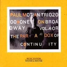 Paul Motian (1931-2011): On Broadway Vol. 4, CD
