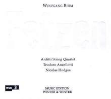 Wolfgang Rihm (geb. 1952): Streichquartett Nr.12 (2000/2001), CD