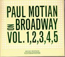 Paul Motian (1931-2011): On Broadway Vol. 1, 2, 3, 4, 5 (Deluxe Edition), 5 CDs