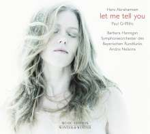 Hans Abrahamsen (geb. 1952): Let me tell you (Liederzyklus), CD