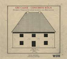 Ludwig van Beethoven (1770-1827): Diabelli-Variationen op.120 für Klavier & Orchester  (Uri Caine / Concerto Köln), CD
