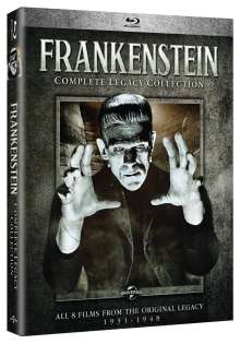 Frankenstein: Complete Legacy Collection: Frankenstein: Complete Legacy Collection, Blu-ray Disc
