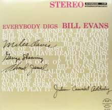 Bill Evans (Piano) (1929-1980): Everybody Digs Bill Evans, LP