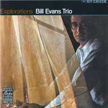 Bill Evans (Piano) (1929-1980): Explorations, CD