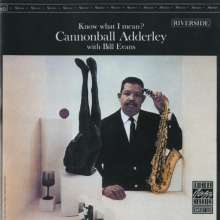 Cannonball Adderley (1928-1975): Know What I Mean?, CD